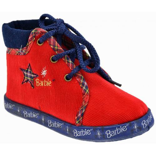 Schoenen Kinderen Babyslofjes Barbie  Rood