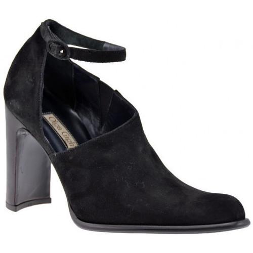 Schoenen Dames Sandalen / Open schoenen Olga Gigli  Zwart