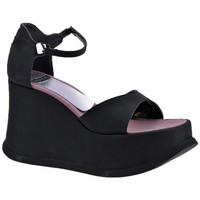 Schoenen Dames Sandalen / Open schoenen Planisphere  Zwart