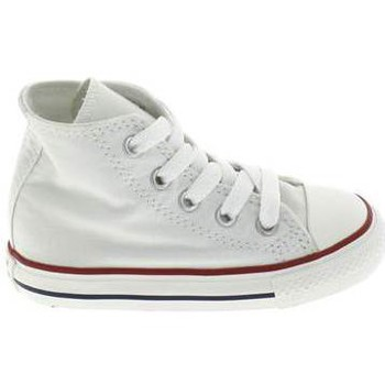 Schoenen Kinderen Babyslofjes Converse All Star Hi BB Blanc Wit