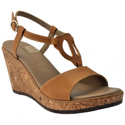 Schoenen Dames Sandalen / Open schoenen Donna Serena  Bruin