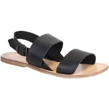 Schoenen Dames Sandalen / Open schoenen Gianluca - L'artigiano Del Cuoio 500X U NERO LGT-CUOIO nero