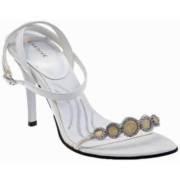 Schoenen Dames Sandalen / Open schoenen Chedivé  Wit