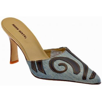 Schoenen Dames Klompen Miss Sixty  Blauw