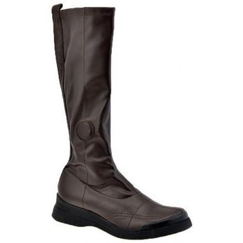 Schoenen Dames Hoge laarzen Janet&Janet  Bruin
