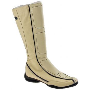 Schoenen Dames Hoge laarzen Janet&Janet  Beige