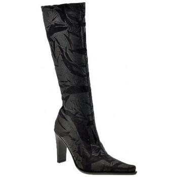 Schoenen Dames Hoge laarzen Janet&Janet  Zwart