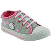 Schoenen Kinderen Lage sneakers Hello Kitty  Grijs