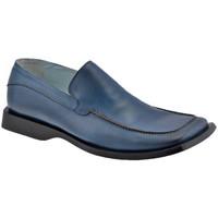 Schoenen Heren Mocassins Lancio  Blauw