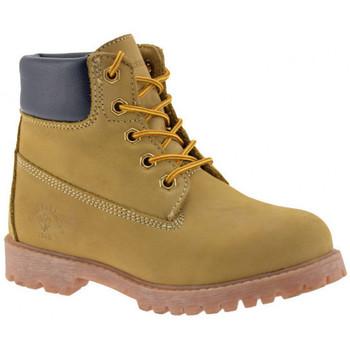 Schoenen Meisjes Laarzen Lumberjack  Geel