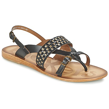 Schoenen Dames Sandalen / Open schoenen Kickers NEWTONG Zwart