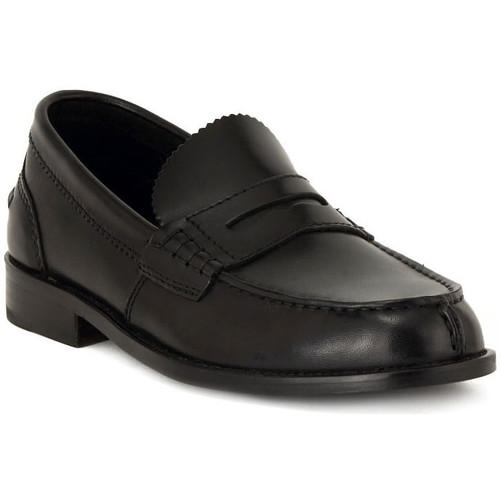 Schoenen Heren Mocassins Clarks BEARY LOAFER BLACK Multicolore