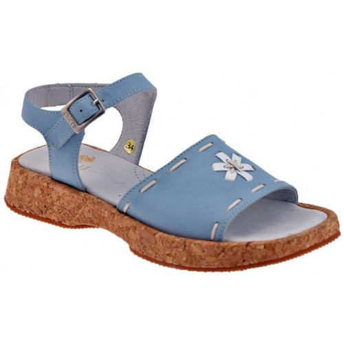 Schoenen Kinderen Sandalen / Open schoenen Chicco  Blauw