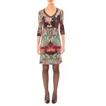 Textiel Dames Korte jurken Custo Barcelona Robe Dem Cahir noir Zwart
