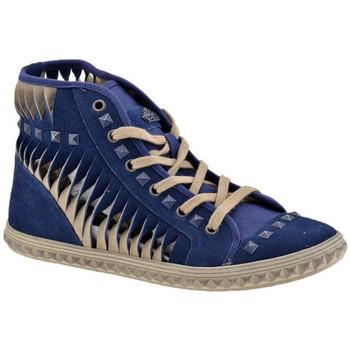 Schoenen Dames Hoge sneakers Fornarina  Blauw