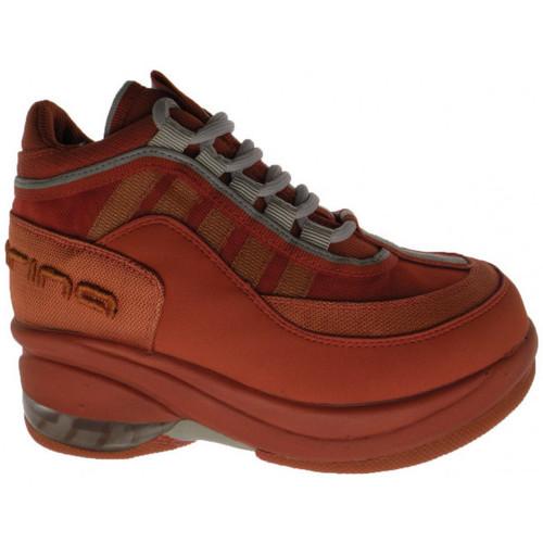 Schoenen Kinderen Hoge sneakers Fornarina  Oranje