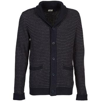 Textiel Heren Vesten / Cardigans Lee SHAWL CARDIGAN Blauw