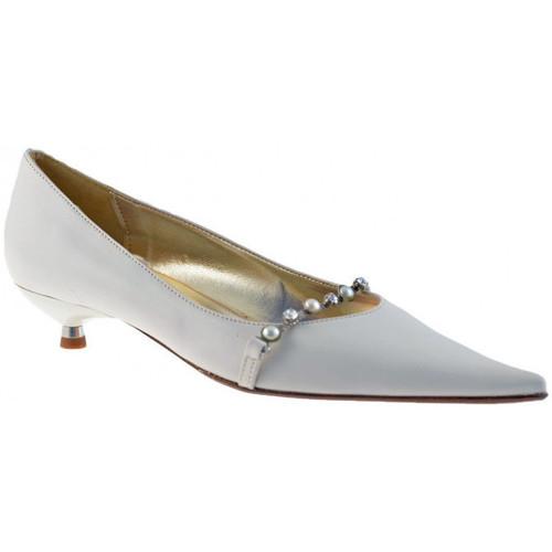 Schoenen Dames Ballerina's Fascino  Wit