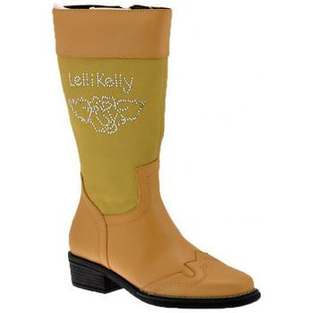 Schoenen Kinderen Hoge laarzen Lelli Kelly  Beige
