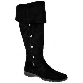 Schoenen Dames Hoge laarzen Byblos Blu  Zwart