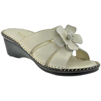 Schoenen Dames Leren slippers Susimoda  Beige