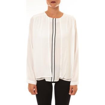 Textiel Dames Tops / Blousjes La Vitrine De La Mode By La Vitrine Blouse H12 écru Beige