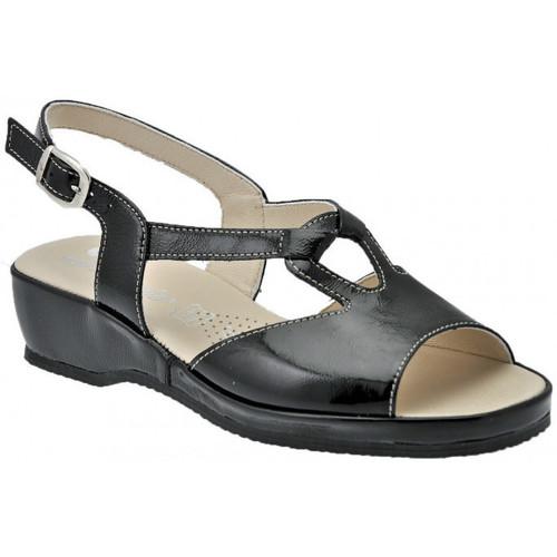 Schoenen Dames Sandalen / Open schoenen Susimoda  Zwart