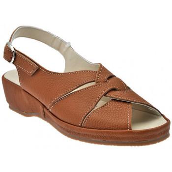 Schoenen Dames Sandalen / Open schoenen Susimoda  Bruin
