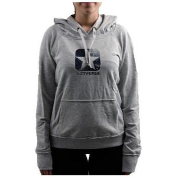 Textiel Dames Sweaters / Sweatshirts Converse  Grijs