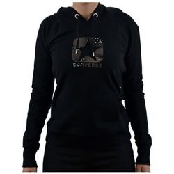 Textiel Dames Sweaters / Sweatshirts Converse  Zwart