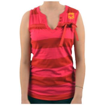 Textiel Dames Mouwloze tops Converse  Roze