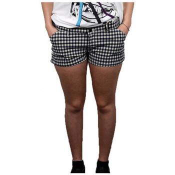 Textiel Dames Korte broeken / Bermuda's Converse  Blauw