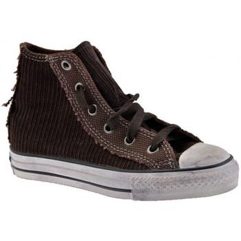 Schoenen Kinderen Hoge sneakers Converse  Bruin