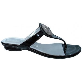 Schoenen Dames Teenslippers Keys  Zwart