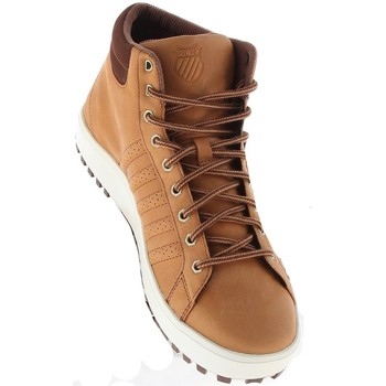 Schoenen Heren Hoge sneakers K-Swiss Adcourt 72 Boot Brons-Wit