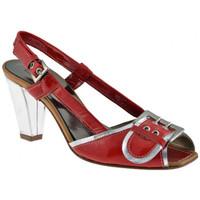 Schoenen Dames Sandalen / Open schoenen Progetto  Rood