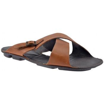 Schoenen Heren Leren slippers Pam Project  Bruin