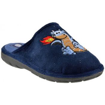 Schoenen Kinderen Sloffen Inblu  Blauw