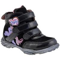 Schoenen Kinderen Hoge sneakers Dessins Animés  Zwart