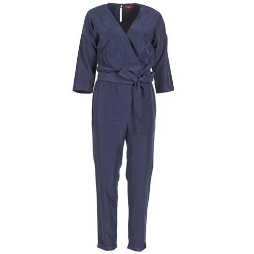 Textiel Dames Jumpsuites / Tuinbroeken S.Oliver WIGOU Marine