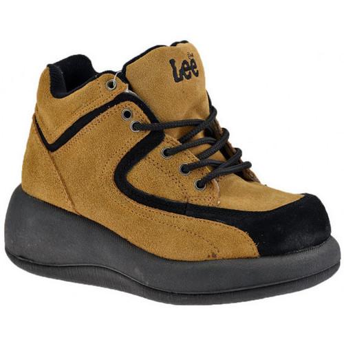 Schoenen Dames Hoge sneakers Lee  Beige