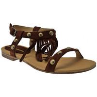 Schoenen Dames Sandalen / Open schoenen Donna Loka  Bruin