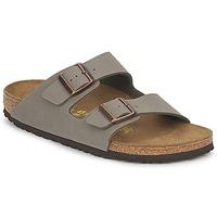 Schoenen Leren slippers Birkenstock ARIZONA Steen