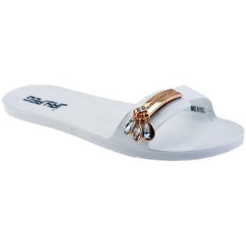 Schoenen Dames Leren slippers Jay.peg  Wit