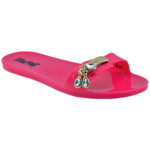 Schoenen Dames Leren slippers Jay.peg  Roze