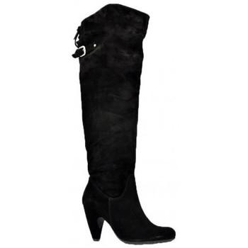 Schoenen Dames Hoge laarzen Sixt  Zwart