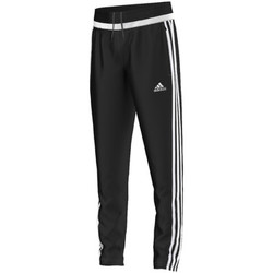 Textiel Jongens Trainingsbroeken adidas Originals tiro15 Training Pant Jr BLACK / WHITE / BLACK