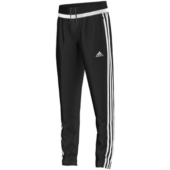 Textiel Jongens Trainingsbroeken adidas Performance tiro15 Training Pant Jr BLACK / WHITE / BLACK