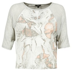 Textiel Dames T-shirts korte mouwen Mexx EXOTI Grijs