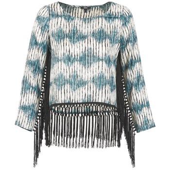 Textiel Dames T-shirts met lange mouwen Mexx AMBRELI Blauw